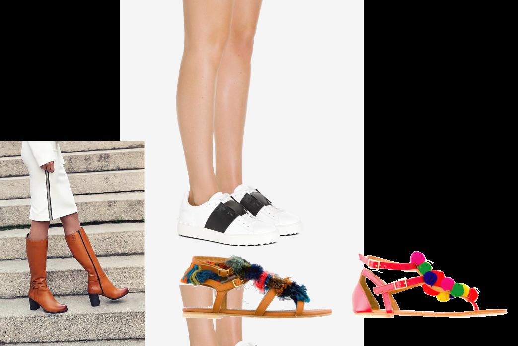 Chaussures femme, chez les filles